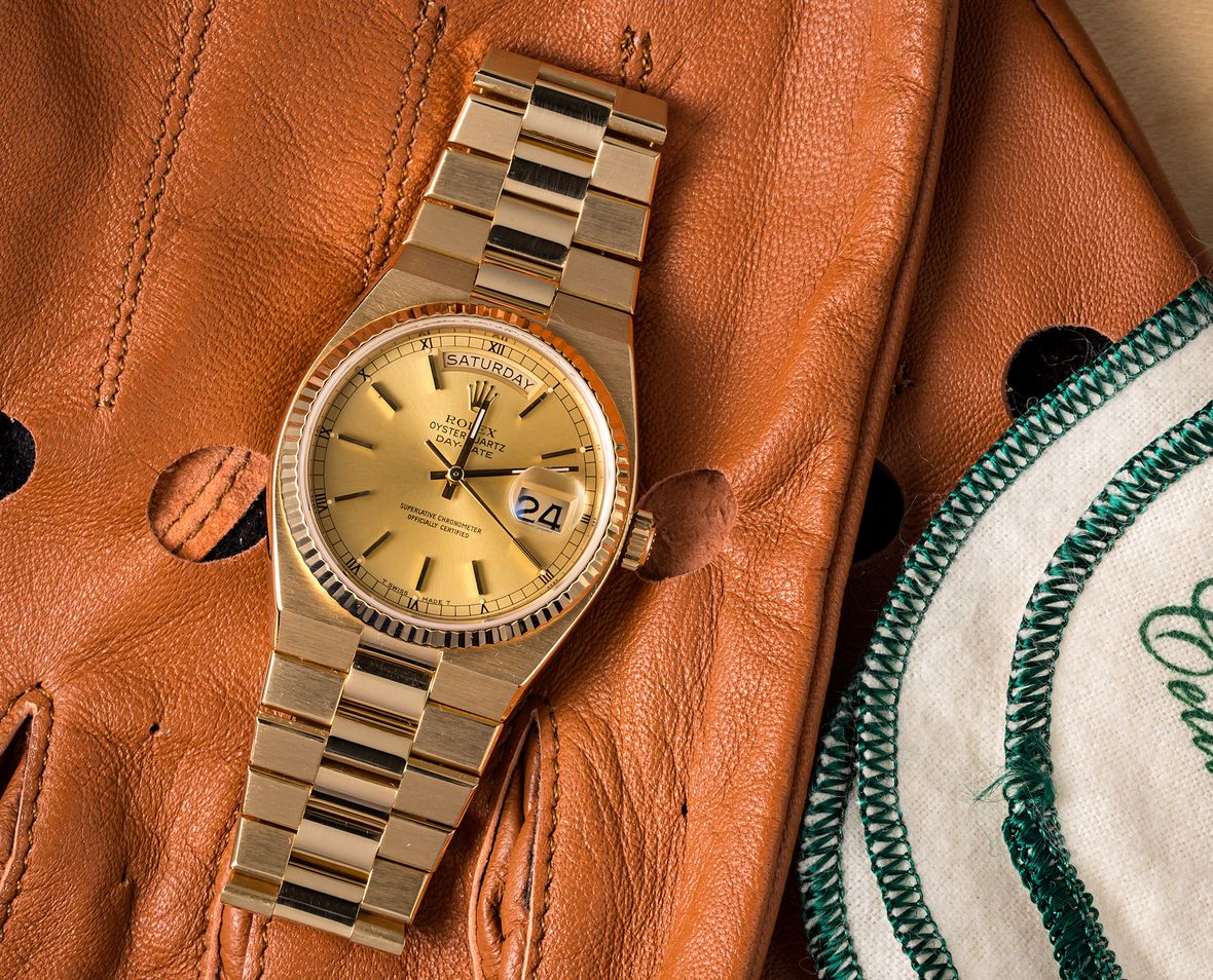 Rolex Oysterquartz Day-Date Yellow Gold