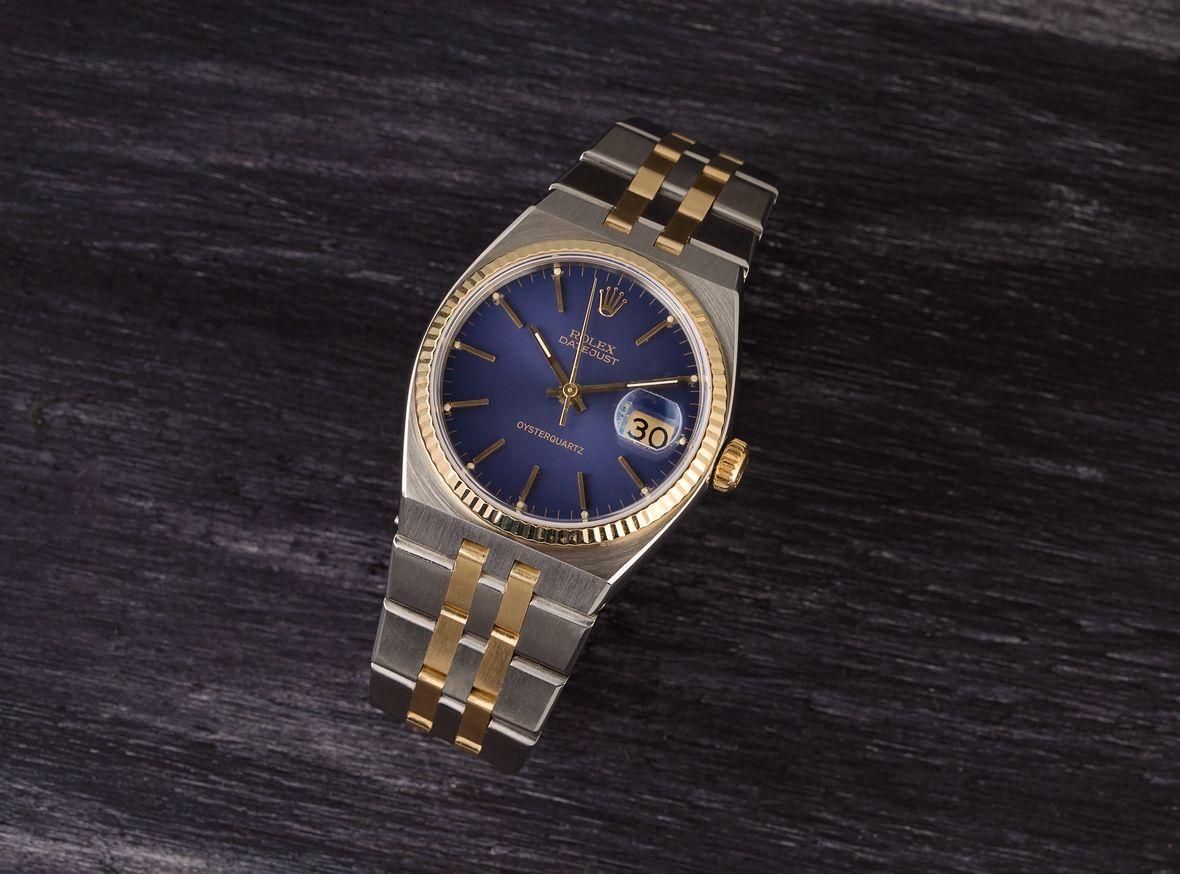 Rolex Oysterquartz Datejust Two-Tone