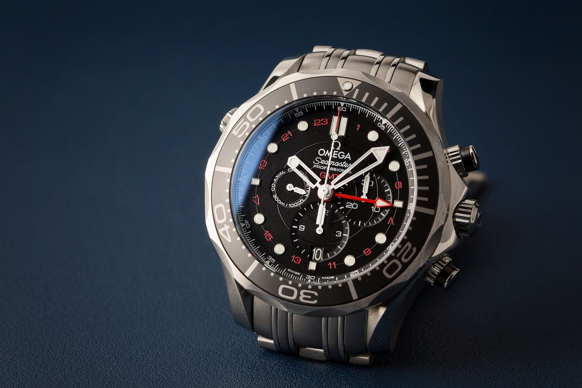 Omega Seamaster Diver 300M GMT Chronograph Stainless Steel