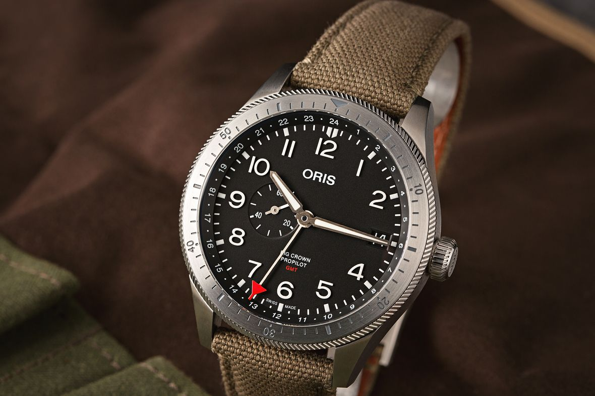 Oris Big Crown ProPilot Timer GMT Watch