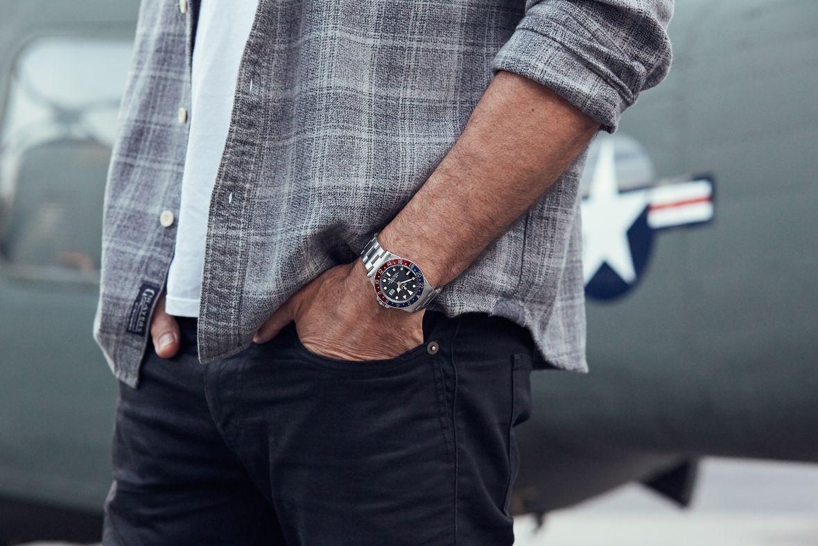 Vintage Rolex GMT Watch GMT-Master Pepsi 1675