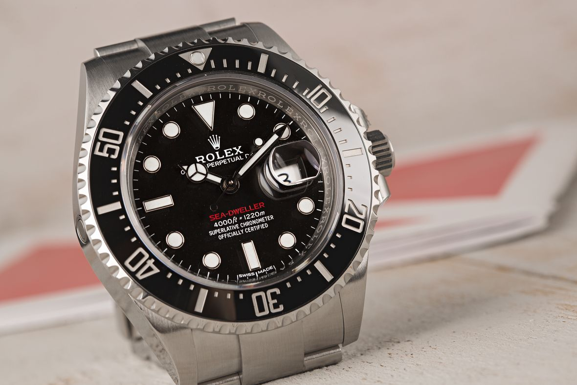Big Face Watches Rolex Sea-Dweller 126600