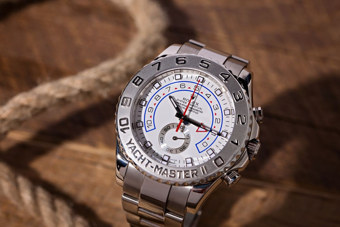 Big Face Watches Rolex Yacht-Master II 116689