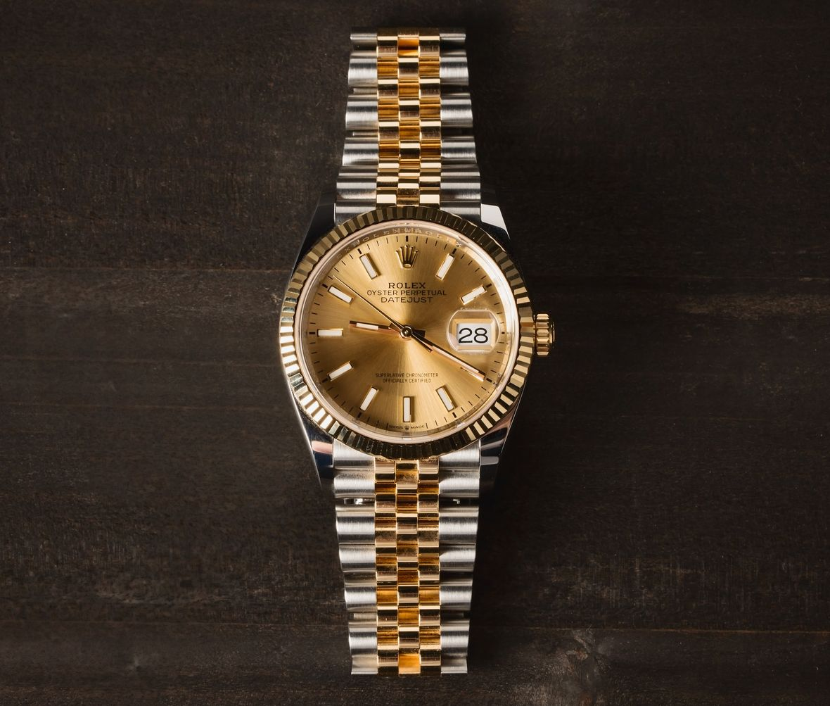 How to Buy a Rolex Datejust 36 steel and gold 126233