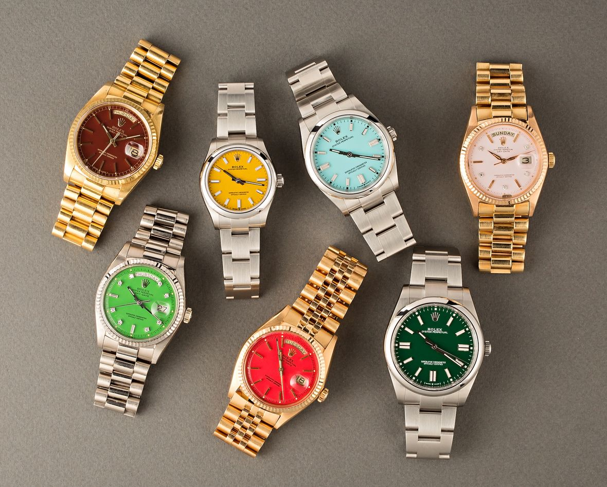 How to Buy a Rolex Stella Dial Oyster Perpetual Vintage Modern