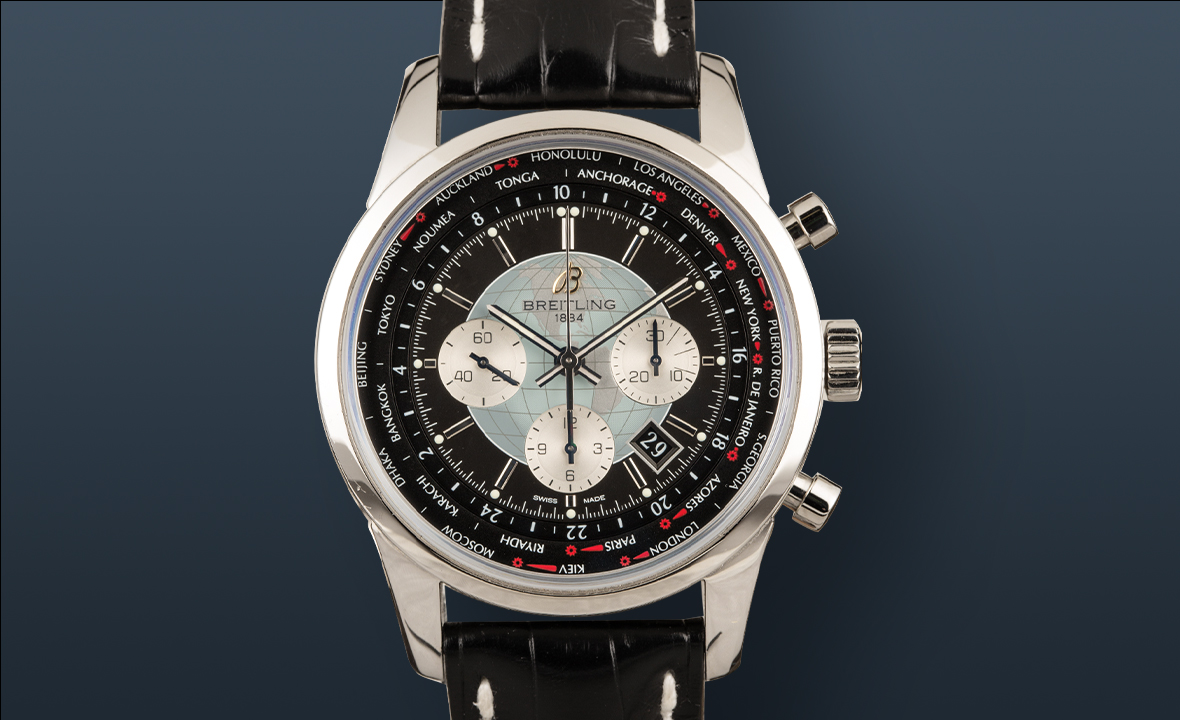 Best Travel Watches Breitling Transocean Chronograph Unitime