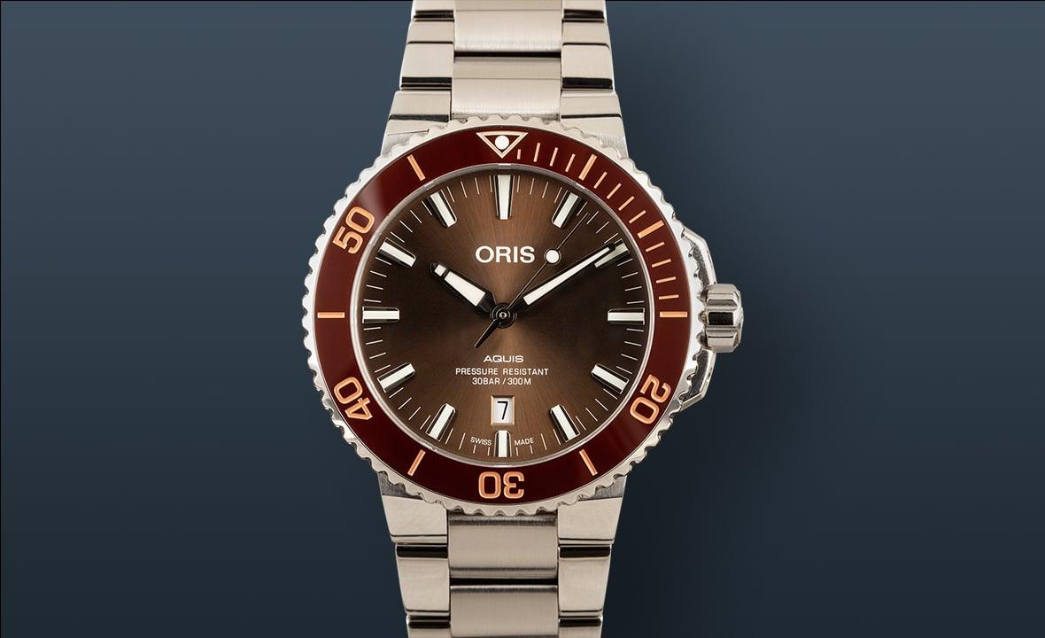 Best Travel Watches Oris Aquis Date