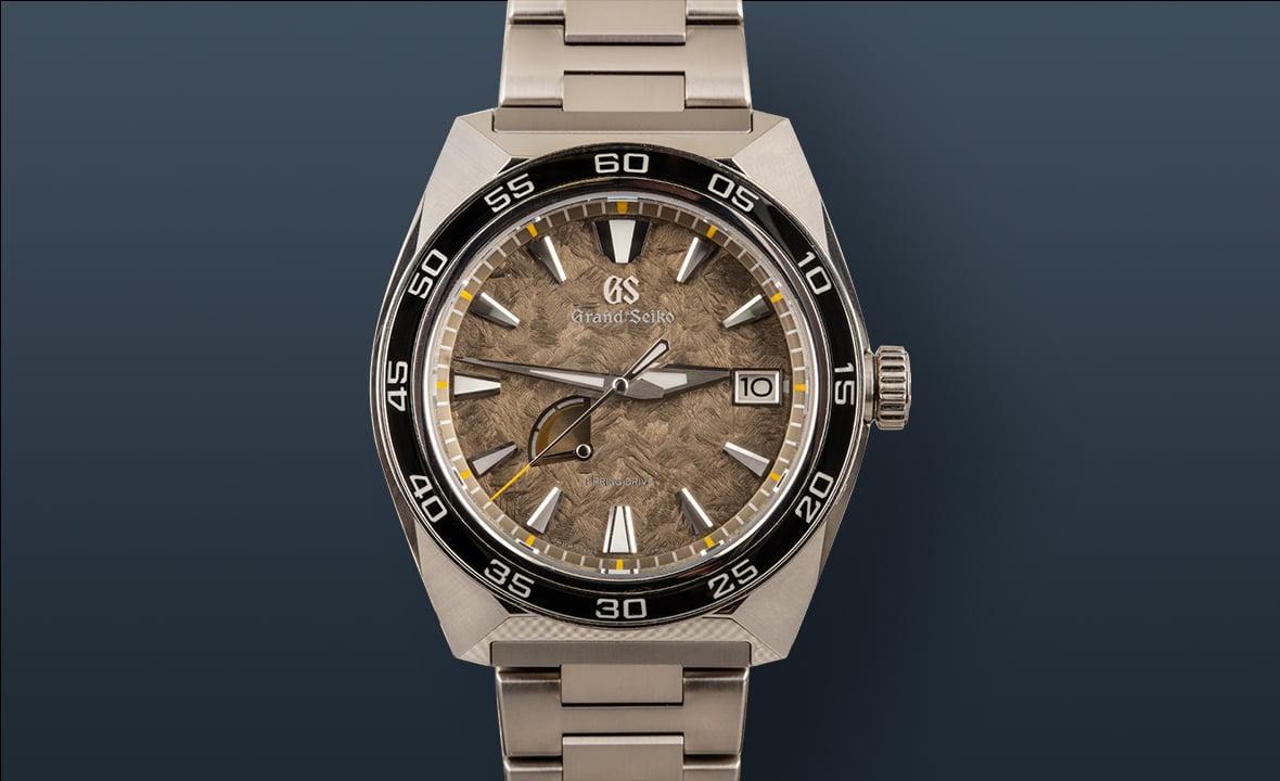 Best Travel Watches Grand Seiko Sport SBGA403