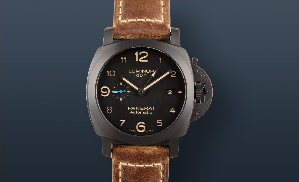Best Travel Watches Panerai Luminor 1950 3-Days GMT Ceramica