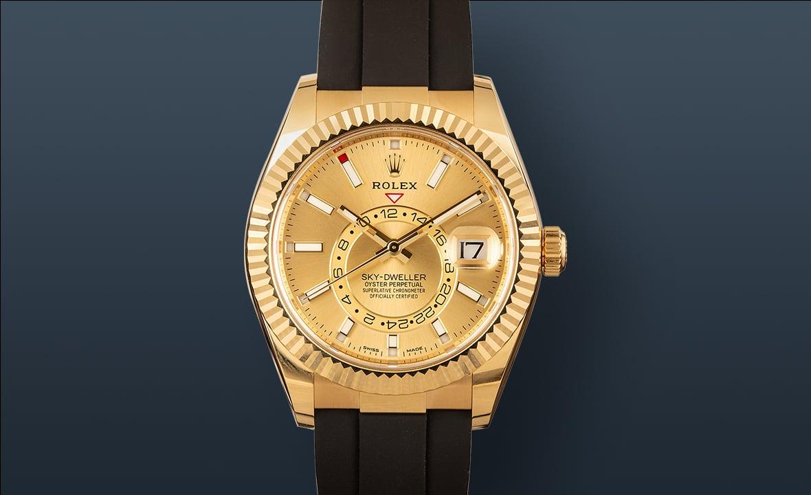 Best Travel Watches Rolex Sky-Dweller 326238