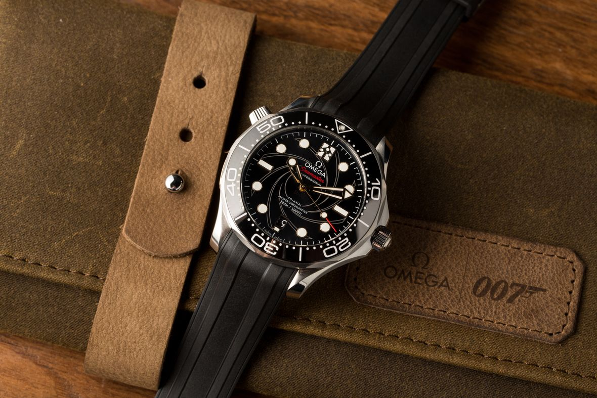 James Bond Omega Seamaster Diver 300M 50th Anniversary Limited Edition On Her Majestys Secret Service