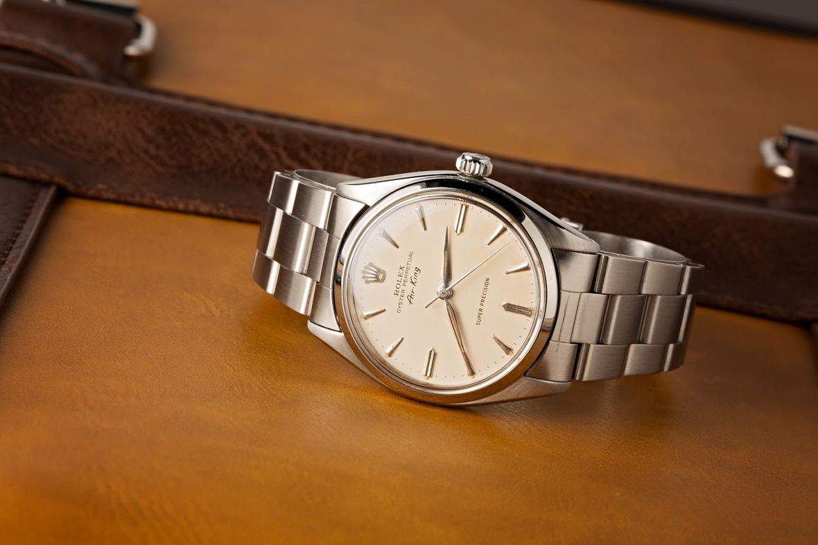 Vintage Rolex 5500 Oyster Perpetual Air-King Super Precision