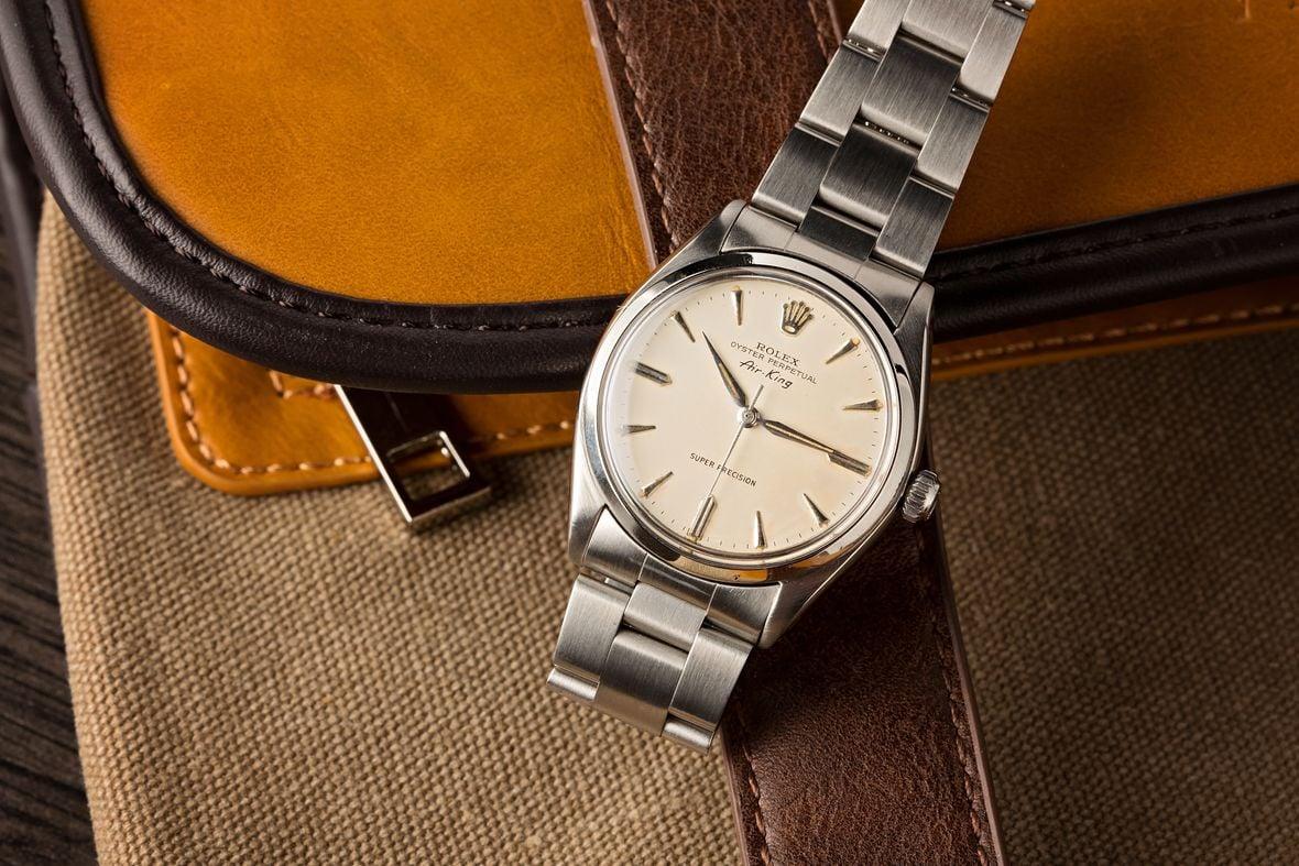 Vintage Rolex 5500 Air-King Super Precision