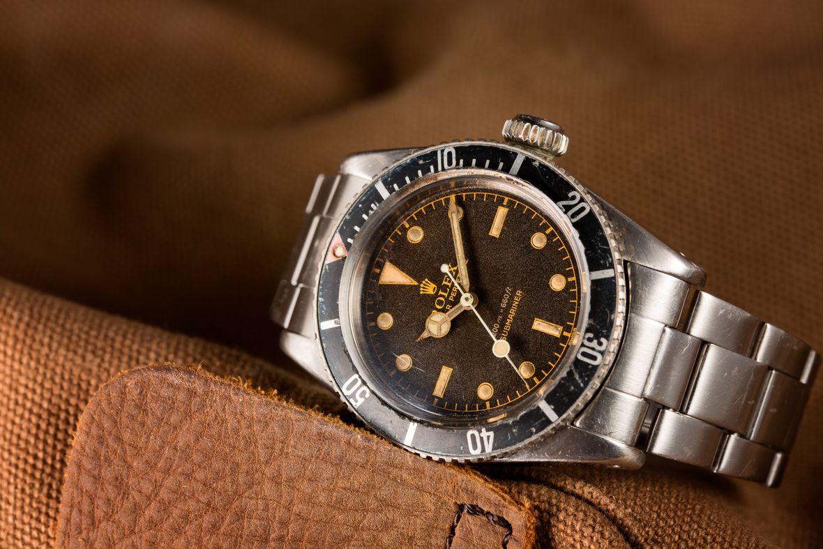 James Bond Rolex Submariner 6538 Vintage
