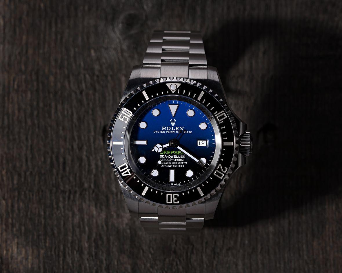 Rolex Dive Watches Deepsea 126660 D-Blue Dial