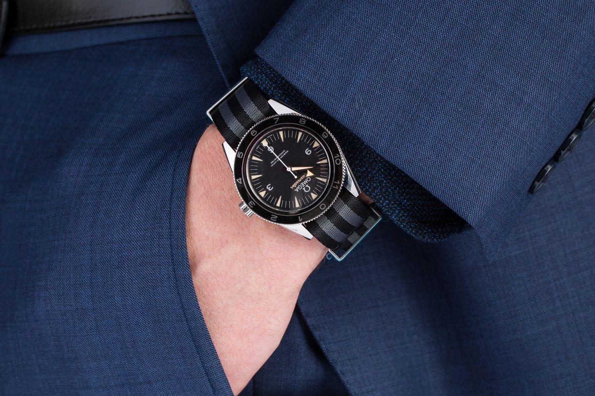 James Bond Omega Seamaster 300 SPECTRE Limited Edition