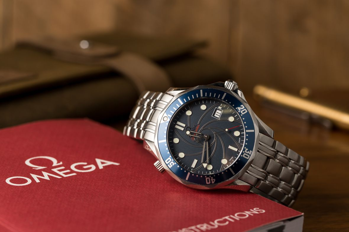 James Bond Watch Omega Seamaster Professional