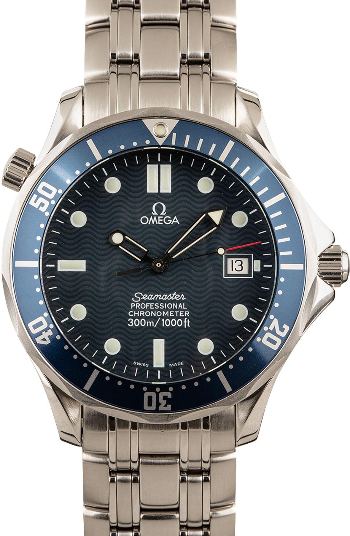 James Bond Omega Seamaster Professional 300M Chronometer 2531.80