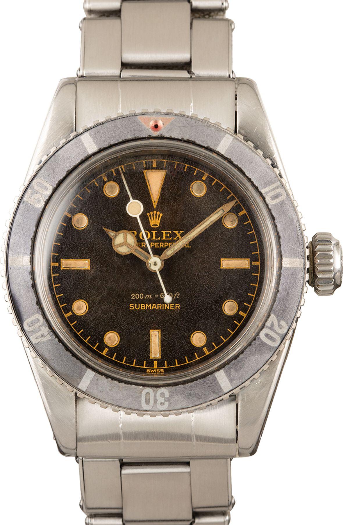 James Bond Rolex Submariner 6538