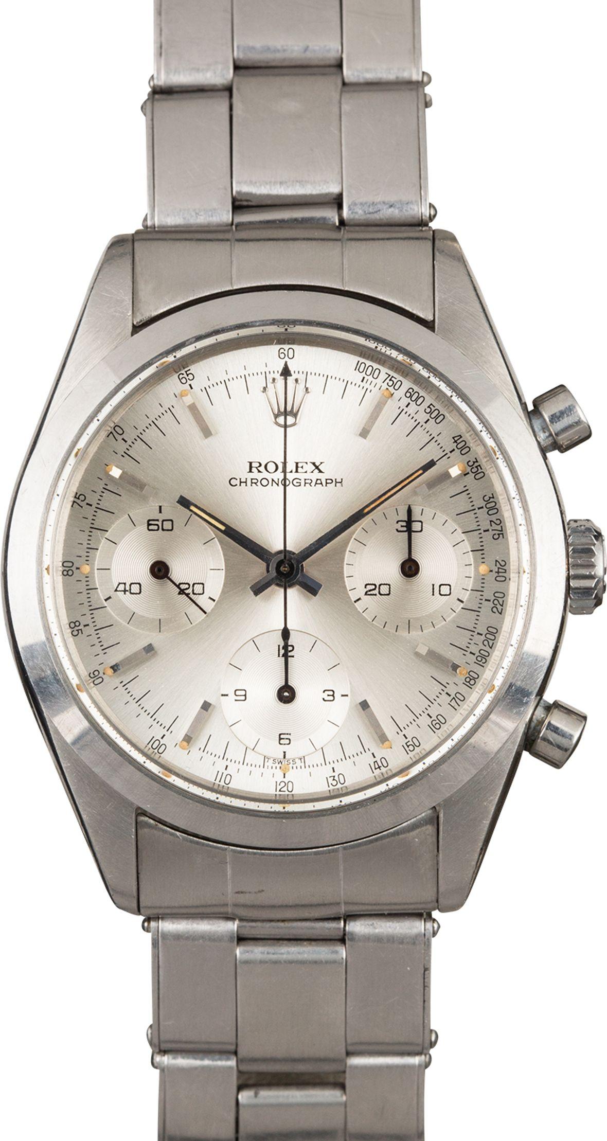 James Bond Rolex Pre-Daytona Chronograph 6238
