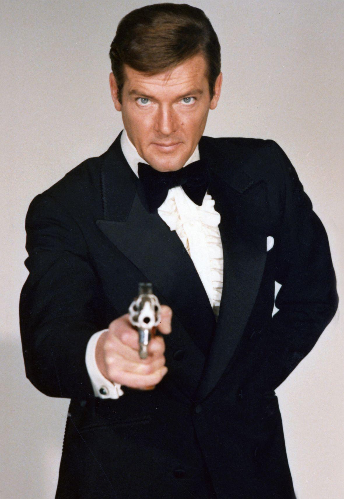 Best James Bond Actor Roger Moore