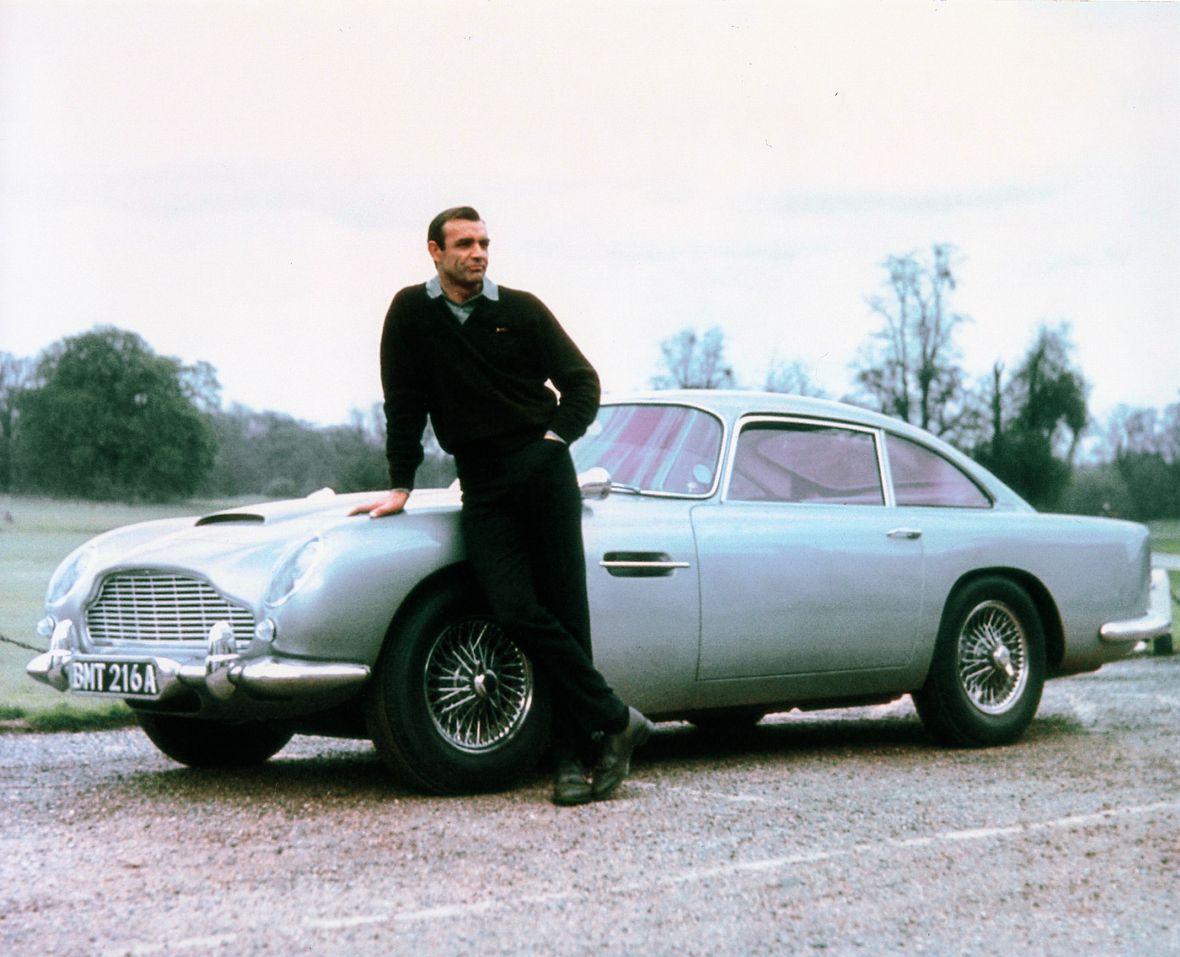 Best James Bond Car Aston Martin DB5