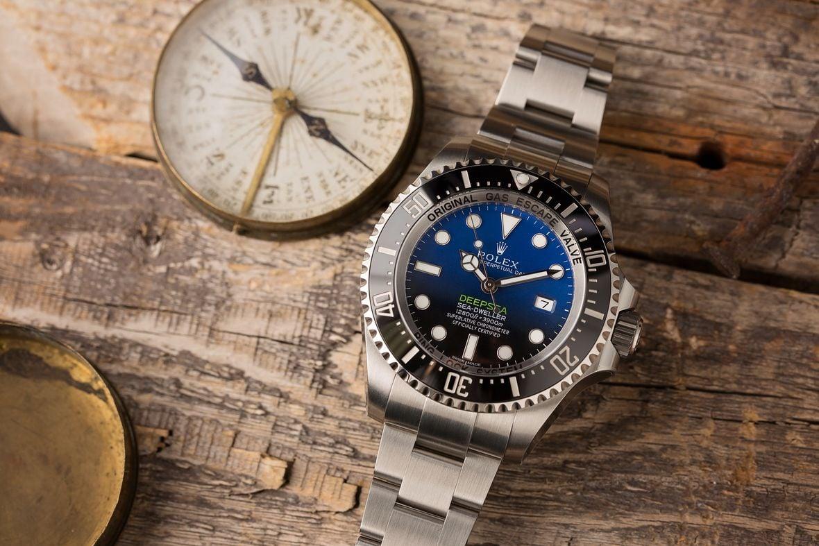 Rolex Dive Watches Deepsea Sea-Dweller 116660 D-Blue
