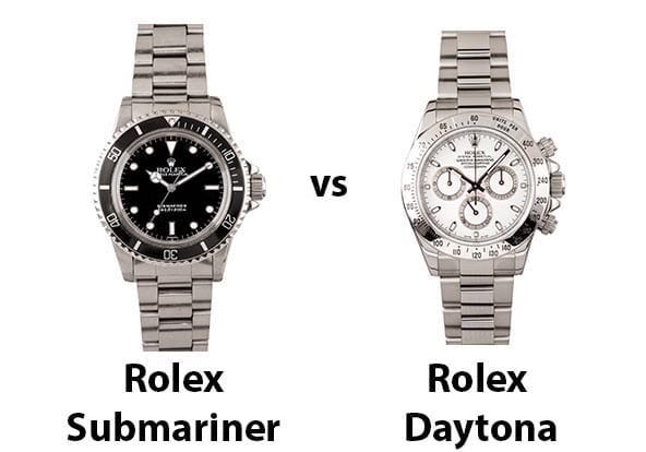 submariner vs daytona