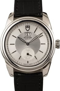 Tudor Glamour Double Date 57000 Silver Dial