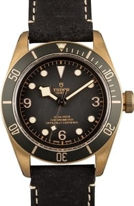 Tudor Heritage Black Bay Bronze 79250B Leather Strap