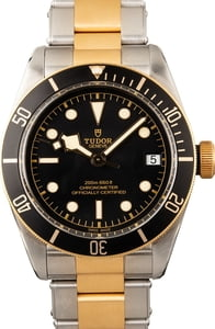 Tudor Heritage Black Bay 79733N Two Tone Watch
