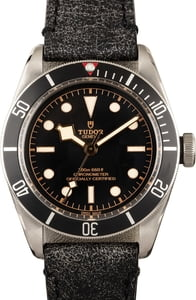 Tudor Heritage Black Bay 79230N Leather Strap