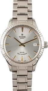 Tudor Style Stainless Steel