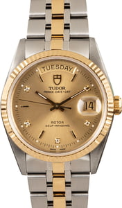 Pre-Owned Tudor Day Date 76213