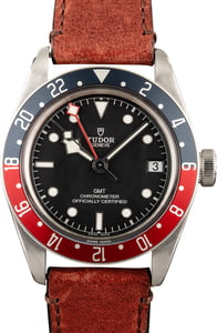 Tudor Black Bay 79830RB Brown Leather Strap