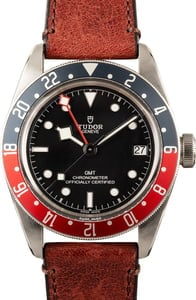 Pre-Owned Tudor Black Bay GMT 79830RB Red & Blue Bezel