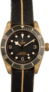 PreOwned Tudor Heritage Black Bay Bronze 79250BA