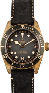 Tudor Heritage Black Bay Bronze 79250BA Leather Strap