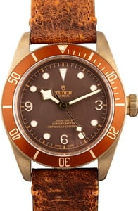 PreOwned Tudor Heritage Black Bay 79250BM Bronze