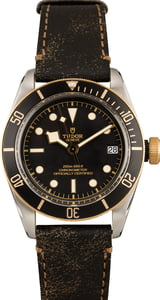 Tudor Heritage Black Bay 79733N Leather Strap