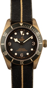Pre-Owned Tudor Heritage Black Bay Bronze 79250BA