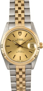 Tudor Prince Oysterdate 74033 Two-Tone