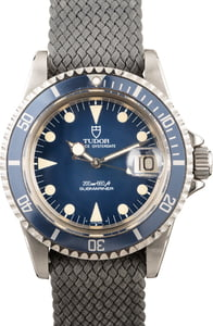 Pre-Owned Vintage Rolex Tudor Submariner 76100