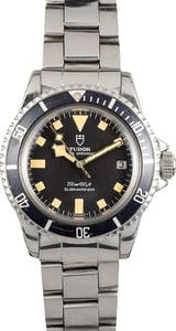 Vintage Rolex Tudor Submariner 94110 Black